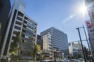 福岡天神の市街地