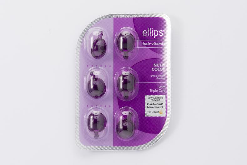 エリップス ヘアマスク 紫